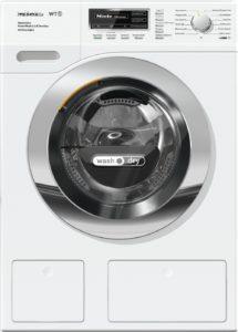 Mit der Wash und Dry Funktion mit 7 kg Fassungsvermögen ist Ihre Wäsche mit der Miele WTH 730 WPM Waschmaschine mit integriertem Trockner im Test ganz schnell trocken.