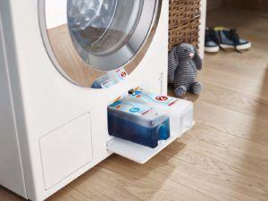 Miele Kartuschenset als Zubehör für die Miele WTH 730 WPM Waschmaschine mit integriertem Trockner.
