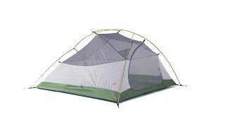 Das Cloud-up 3 Personen Zelt ist sehr leicht Test