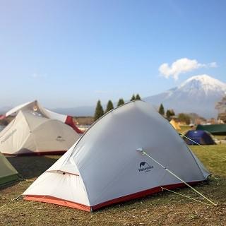 Das CloudUp 2 2 Personen Zelt ist sehr stabil und robust Test