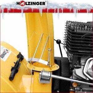 Holzinger HSF-110LE Schneefräse Praxiseinsatz, Test und Vergleich