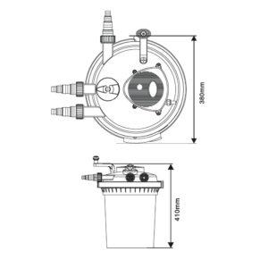 SunSun CPF-5000 Teichfilter Preisvergleich und Test
