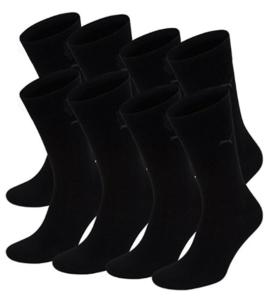 Business Casual schwarze Socken aus Baumwolle von Puma im Test und Vergleich.