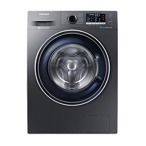 Die Waschmaschine WW70J5435FXEG von Samsung mit integriertem Trockner und ECO-Trommelreinigung im Vergleich Test.