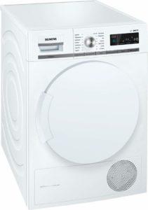 Waschprogramme und Display der A+++ iQ700 WT44W5W0 iSensoric Premium Waschmaschine mit integriertem Trockner von Siemens im Test.