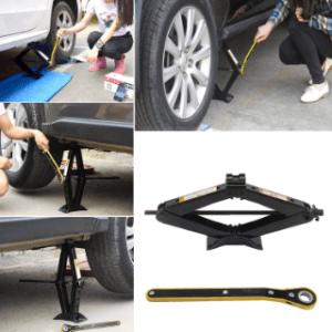 Schlechte Standfestigkeit des Scherenwagenhebers im Test und Vergleich