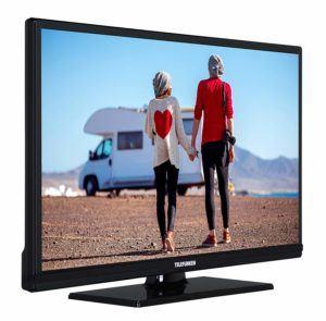 Telefunken XH24D101VD Wohnmobil Fernseher schräg