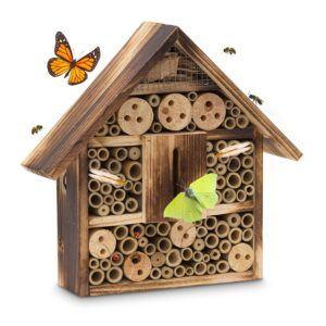Insektenhotel mit Bohrständer bauen