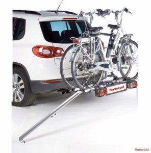 Fahrradträger mit Auffahrschiene im Test und Vergleich