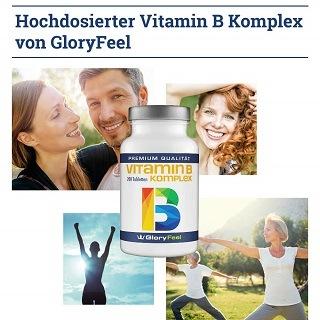 Die Vitamin B Komplex Folsäure Tabletten von Gloryfeel sind sehr leicht zu schlucken im Test