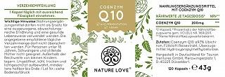 Die Q10 Kapseln von Nature Love sind in Deutschland hergestellt im Test