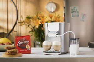 Platzbedarf und Design von Kaffeepadmaschine im Test und Vergleich