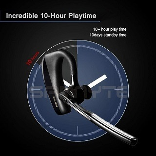 Samnyte K10 Black Bluetooth Headset Test