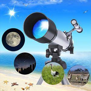 Folgende Eigenschaften sind in einem Teleskop Test wichtig