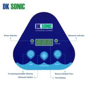 DK SONIC 800ml Ultraschallreiniger Panel