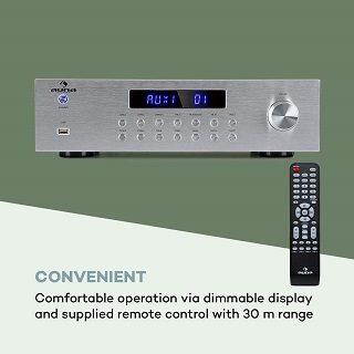 Auna AV2-CD850BT Verstärker Test
