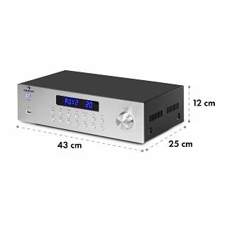 Auna AV2-CD850BT Verstärker im Test