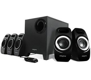Creative Inspire T6300 5.1 Soundsystem Test