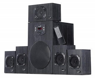 Genius SW-HF 4500 5.1 Soundsystem Test