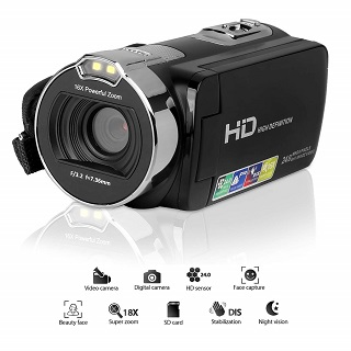 GordVE SZjk889de Videokamera Test