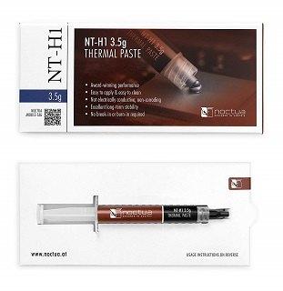 Die NT-H1 Wärmeleitpaste von Noctua ist einfach aufzutragen im Test und Vergleich