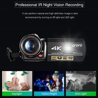 ORDRO HDR-AC3 Videokamera Test
