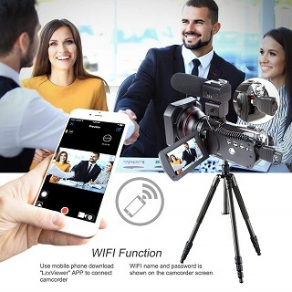 ORDRO HDR-AC3 Videokamera im Test