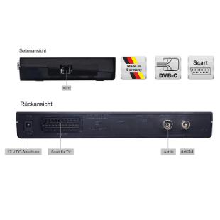 Vistron VT85 Kabel Receiver Praxiseinsatz, Test und Vergleich