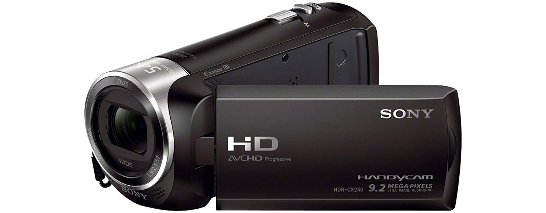 Sony HDR-CX240E Videokamera Test