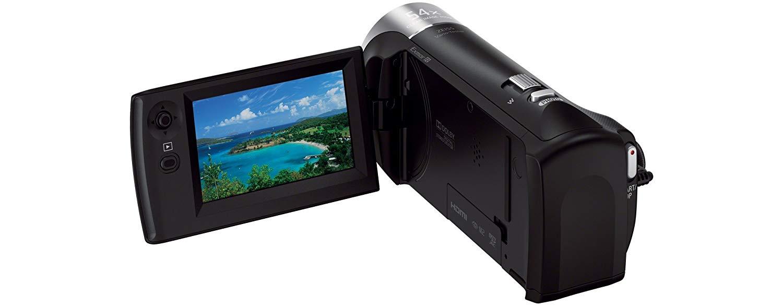 Sony HDR-CX240E Videokamera im Test