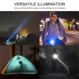 LED Taschenlampe mit UV-Licht im Test und Vergleich
