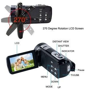 Weton VPS-P7DE Videokamera Test