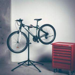 Fahrrad Montageständer mit Werkstattwagen