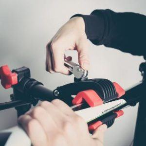 Fahrrad Montageständer Ultrasport Expert Bedienung