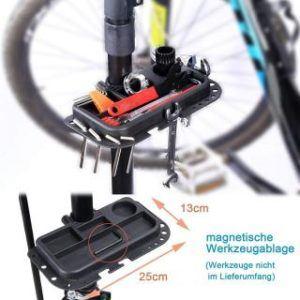 Fahrrad Montageständer Yorbay Werkzeugablage
