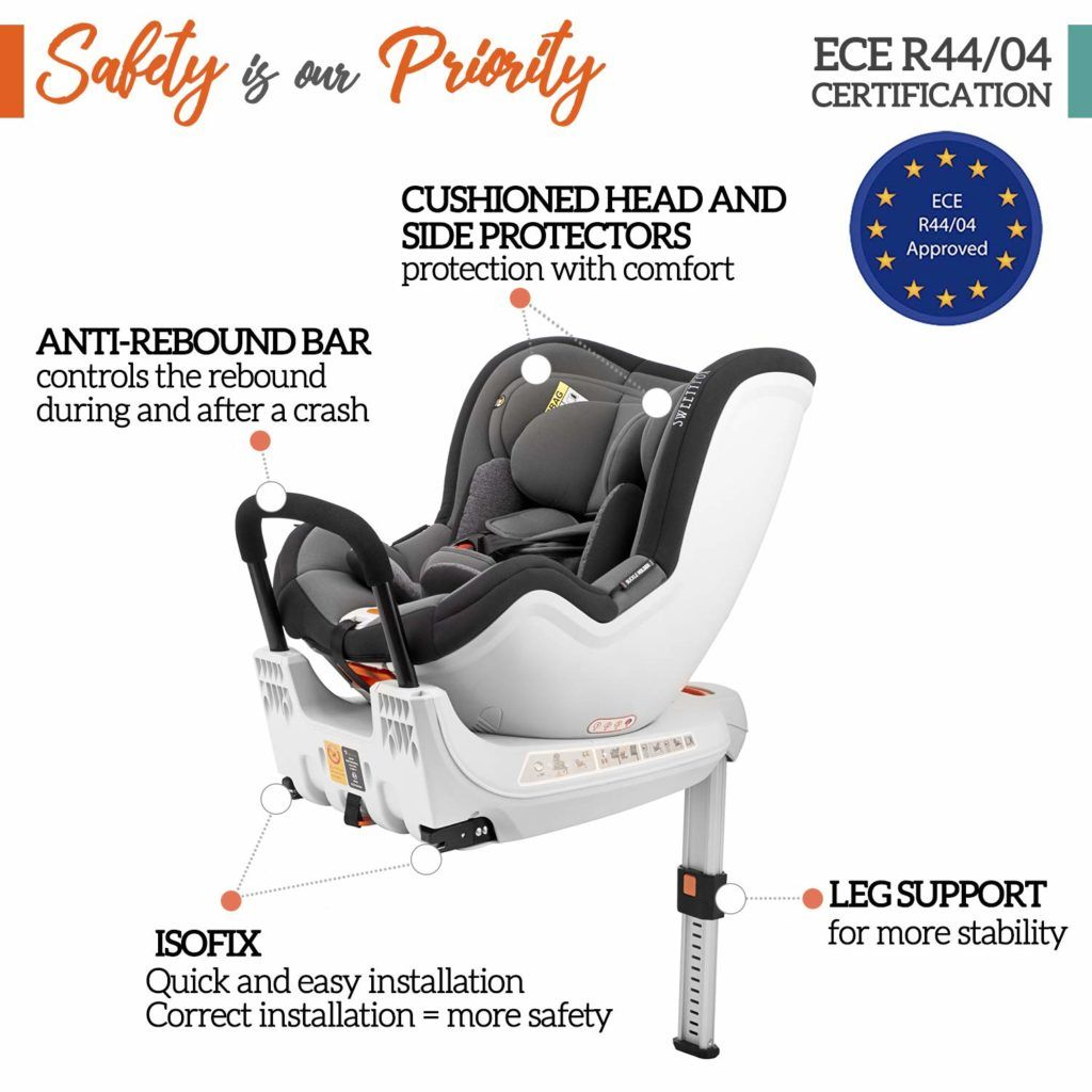 Kindersitz 1 Isofix
