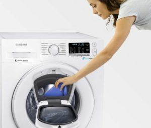 wäsche nachträglich einfüllen