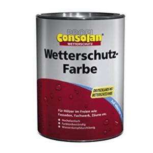 Consolan 1050340201 Fassadenfarbe Test