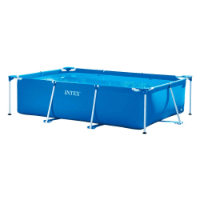 Intex Rectangular Gartenpool Test