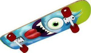 Das Kinder Skateboard von Vedes Großhandel sieht sehr schön aus im Test
