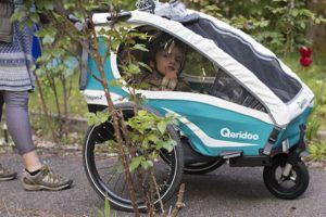 Qeridoo Kidgoo 2 ist als Buggy verwendet