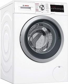Der WVG30443 Waschtrockner von Bosch ist sehr hochwertig verarbeitet im Test