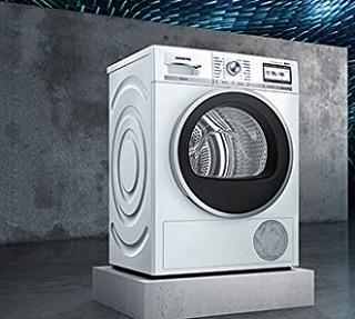Der Waschtrockner von Siemens wird getestet