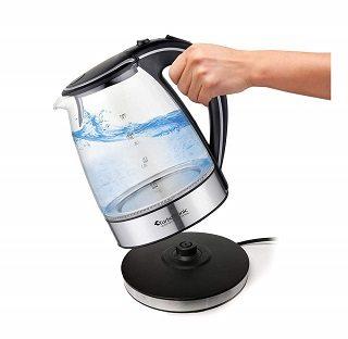 Der Glas Wasserkocher von TurboTronic hat sich sehr gut im Test gezeigt