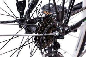 Citybike Damen KCP Terrion Schaltwerk