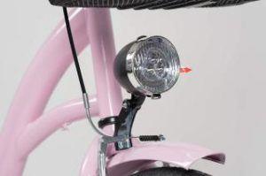 Citybike Damen Milord Hollandrad Leuchte