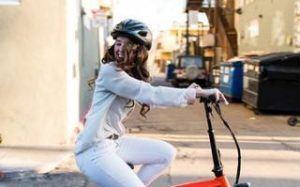 E Bike Frau