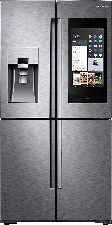 Der Modernste French Door Kühlschrank Ist (selbst Wenn Es Nicht Das Neuste  Modell Ist) Wohl Immer Noch Der French Door Kühlschrank Samsung Family Hub  AKG ...