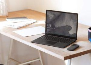 Microsoft Surface Laptop Desktop