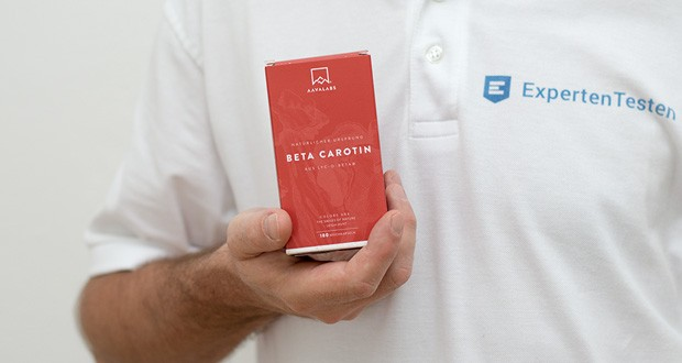 Beta Carotin Kapseln von Aava Labs - Beta Carotin Nahrungsergänzungsmittel plus wertvolles Extra Virgin Olivenöl